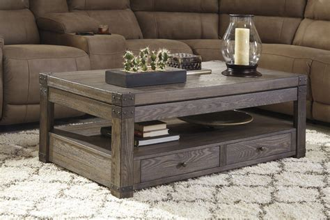 Burladen Rect Lift Top Coffee Table * D  T8469 Ashley