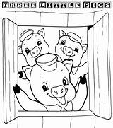 Preschoolers Pigs Coloring Pages Fun sketch template