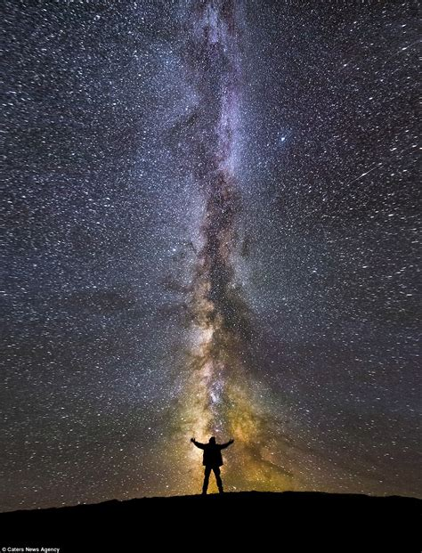 Jaw Dropping Photographs The Milky Way Daily Mail Online