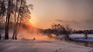 Beautiful Winter Sunrise - Wallpaper #39984