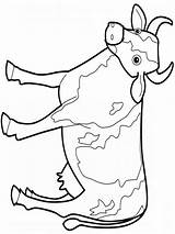 Cow Coloring Pages Printable Animals Adults Children Colors Clipartmag Mycoloring sketch template