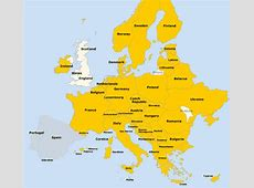 List of Countries in Europe and their Capitals, Language