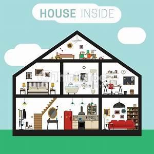 House Inside Interior Vector Art | Thinkstock