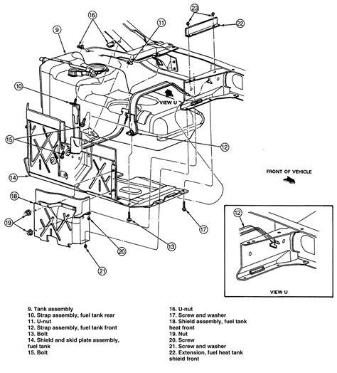 1996 Ford Explorer Fuel Line Wiring by Ford Explorer Sport Change Fuel