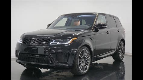 2019 Range Rover Sport by 2019 Range Rover Sport Autobiography Revs Walkaround