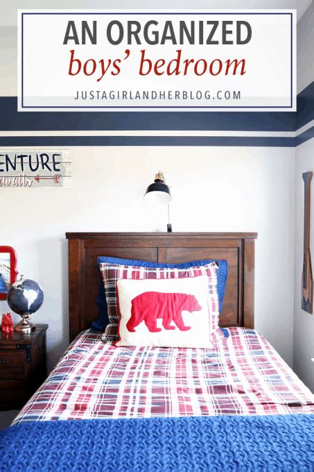Organized Bedroom by An Organized Boys Bedroom Just A And