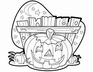 Citrouille D Halloween Dessin : coloriage citrouille halloween sur ~ Nature-et-papiers.com Idées de Décoration
