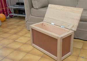 Fabriquer Meuble Bois Facile : a faire soi m me fabriquer un coffre jouets une m thode simple ~ Nature-et-papiers.com Idées de Décoration
