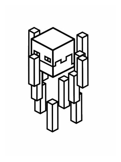 Creeper Minecraft Coloring Pages Drawing Printable Getdrawings