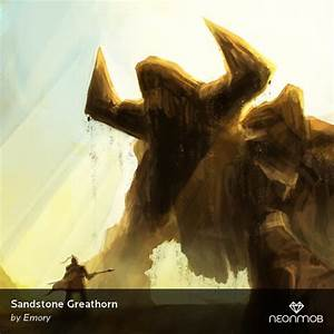 Sandstone Greathorn by Emory dreamtech from the Series