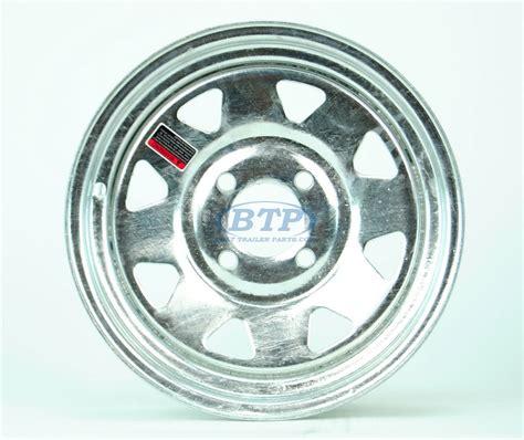 Boat Trailer Wheel Pattern by Boat Trailer Wheel 13 Inch Galvanized 4 Lug 4 On 4