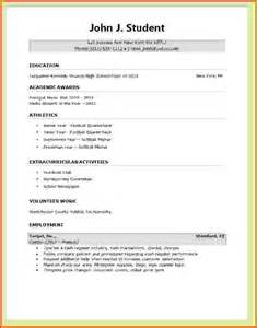 create a student resume lease template