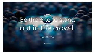 Quotes About Being Different And Standing Out