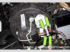 BMW E90 Blower Motor Replacement E91, E92, E93 Pelican