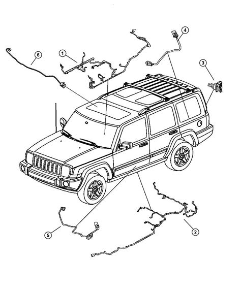 2007 Jeep Commander Starter Wiring by 2010 Oem Jeep Commander Wiring Diagrams Jeep Auto Wiring