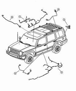 2006 Jeepmander Parts Diagram