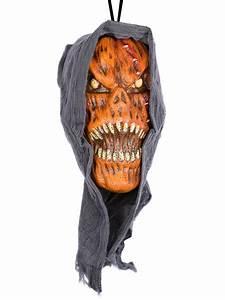Halloween Deko Kaufen : grausame k rbis fratze halloween deko orange schwarz gelb ~ Michelbontemps.com Haus und Dekorationen