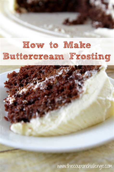 how to make frosting from scratch how to make buttercream frosting i recipe buttercream frosting