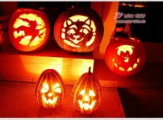 Happy Halloween Kürbis schnitzen 2013 Binenstich