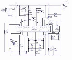 Wiring Schematic Diagram  Fm Receiver Based On Cxa1019