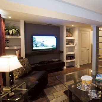finish  basement planning  design planning