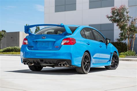 subaru blue 2016 subaru brz wrx sti series hyperblue priced