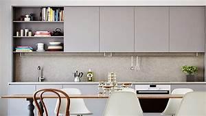 7 couleurs pour repeindre des meubles de cuisine deco cool With meuble de cuisine en bois rouge 2 idee couleur cuisine la cuisine rouge et grise