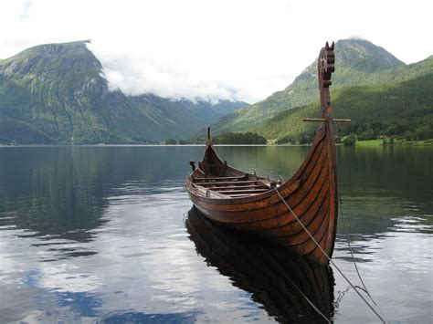 Viking Boats Found by Viking Ships Fjords The Vikings Sacrificed To The