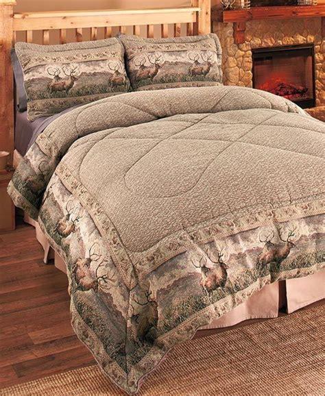 deer comforter sets 3 pc deer wildlife comforter set pillow shams