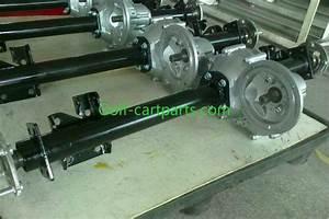 Gas Powered Golf Cart Transmission Go Kart Transaxle 850mm