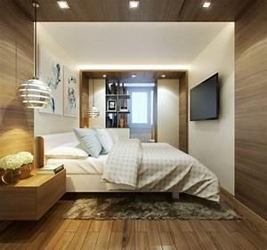 Kleines schlafzimmer modern gestalten designer losungen for Kleines schlafzimmer gemütlich gestalten