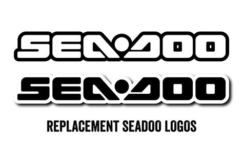 Logo Replacement by Replacement Sea Doo Logos Scs Unlimited