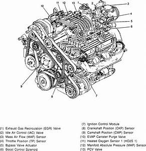 Camaro V6 3800 Engine Diagrams