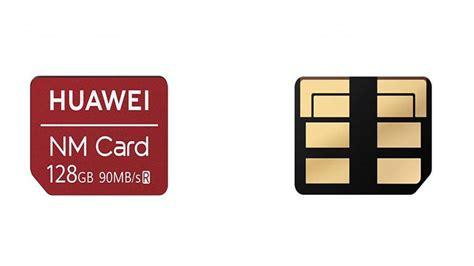 Genuine original huawei nm nano memory card 128gb 128 gb for mate 20 pro x 20x. Huawei quer transformar cartão NM (Nano Memory) em padrão