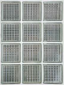 glas design window color textured glass block tile wallpaper