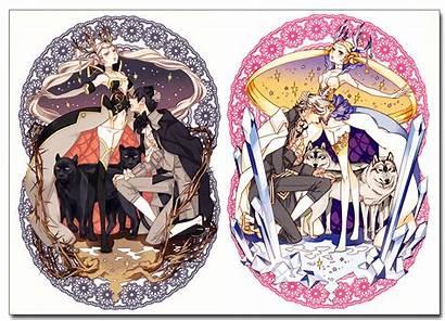 Hoshino Lily Illustration Works Kairo Houseki Anime