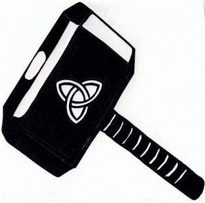 Thor Hammer Logo   Car Interior Design