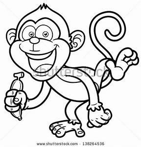 Monkey And Banana Clipart (57+)