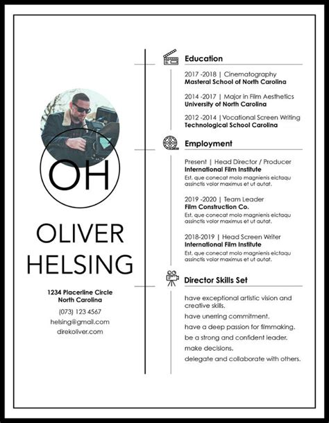 Athletic Resume Template by 8 Athletic Director Resume Templates Pdf Doc Free