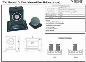 Magnetic Fire Door Holder Fire Alarm   Heavy Duty Magnetic