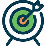 Objective Target Icon Arrow Archery Arrows Icons