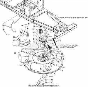 Mtd 13a326jc700  2016  Parts Diagram For Deck