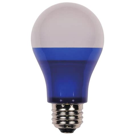 led party light bulb westinghouse 40w equivalent blue omni a19 led party light