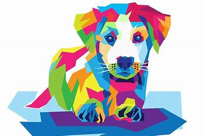 Dog Clipart Dogs Blind Enchroma Colorful Glasses