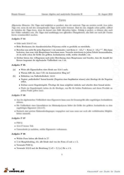 Lösungen Und Tipps Präsenzübungen Blatt 2227