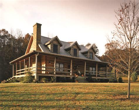 log cabin  wrap  porch exterior home designs pinterest porches cabin  logs