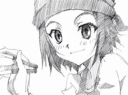 True Tears Sketches Pencil Aiko Ando Artist