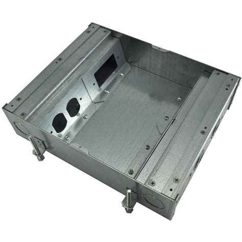 fsr floor boxes fl 500p fsr fl 500p 3 b ul listed floor pour box 3 quot 4x1