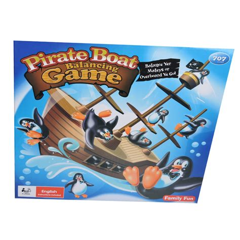 Pirate Boat Balancing Game pirate boat balancing game the toy factory shop