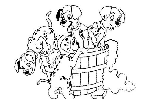 101 Dalmatian Bathroom Free Printable Coloring Pages For
